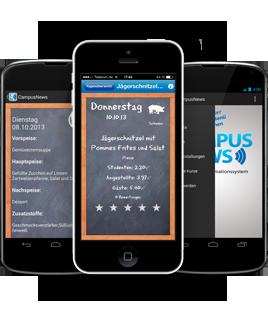 CampusNews als App